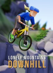 Lonely Mountains: Downhill (2019) на MacOS